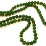 Malay Jade Necklace 36 inch